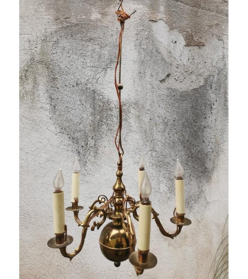 Šviestuvas antikvarinis, Kalėdinis. Kaina 72