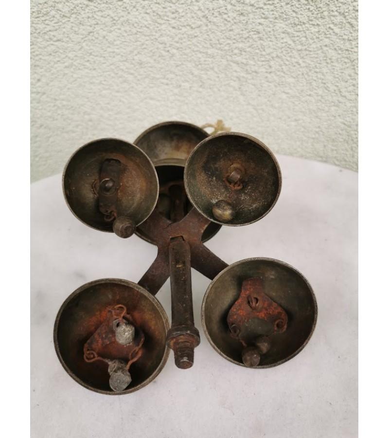 Varpelis antikvarinis, daugiašakis. Kaina 76