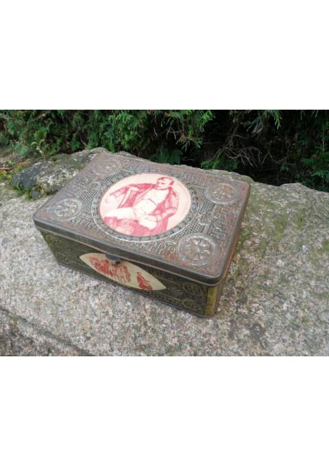 Dėžė Carinės Rusijos Imperijos laikų NAPOLEON skirta Borodino mūšio 100 metinėms (1812-1912). Pagaminta 1912 m. Kaina 127