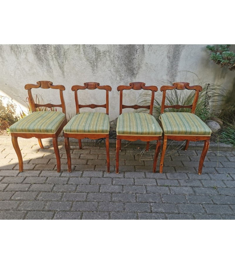 Kėdės antikvarinės žemomis atkaltėmis. Tvirtos. Kaina po 42