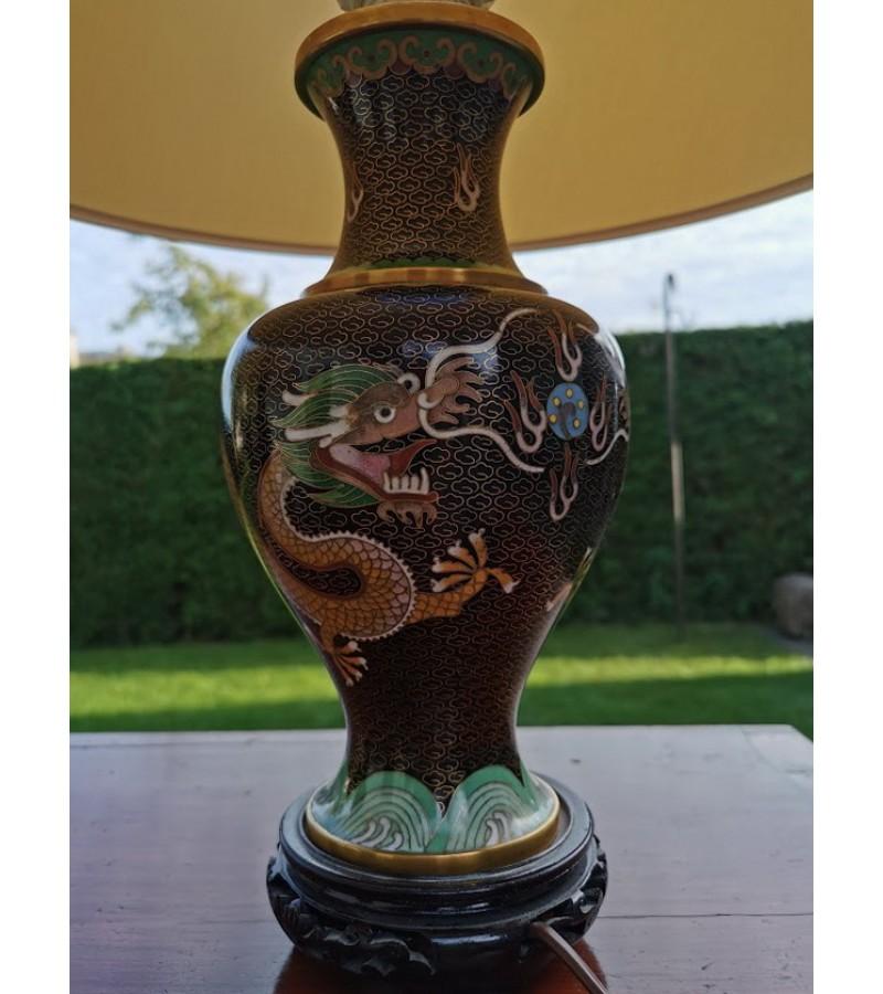 Šviestuvai - Cloisonne vazos. 2 vnt. Kaina po 137