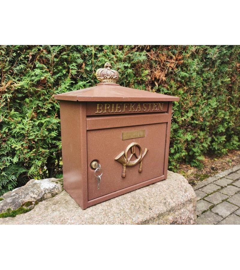 Pašto dėžė storos skardos, vokiška. Kaina 82