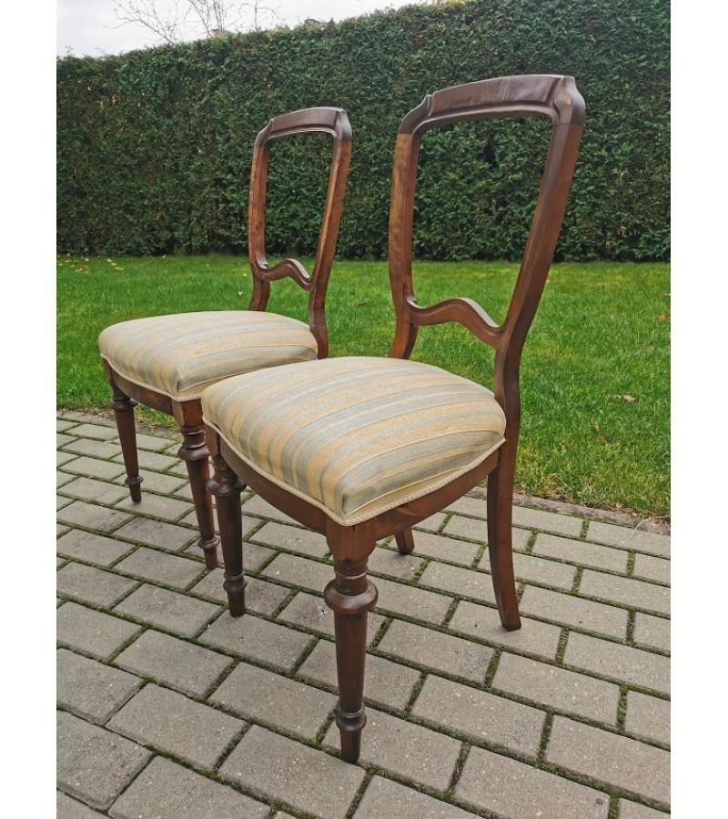 Kėdės antikvarinės. 2 vnt. Kaina po 23