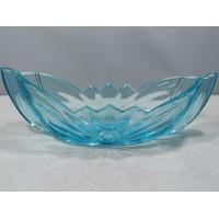 Vaza Art Deco stiliaus, spalvoto stiklo. Fabrikas НЕМАН (Neman) Baltarusija. Kaina 42