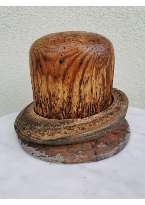 Kepurių siuvimo forma medinė, antikvarinė, tarpukario. Ž. Šančiai, Kaunas. Kaina 72 už viską.
