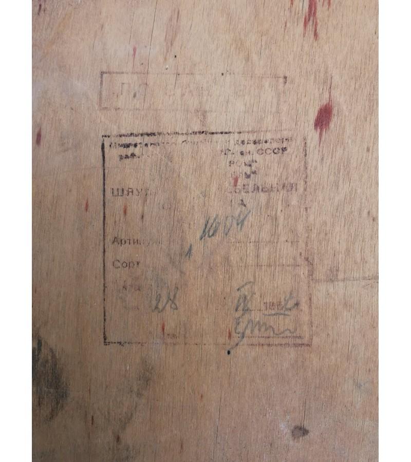 Kėdės Thonet stiliaus, Šiaulių kėdžių kombinatas, 1958 m. 2 vnt. Kaina po 18