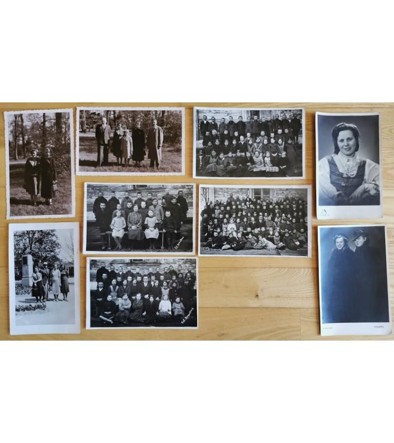 Nuotraukos tarpukario Lietuvos fotografų su žymėjimais: Stropus, Baulas, Bruckus. Kaina po 4
