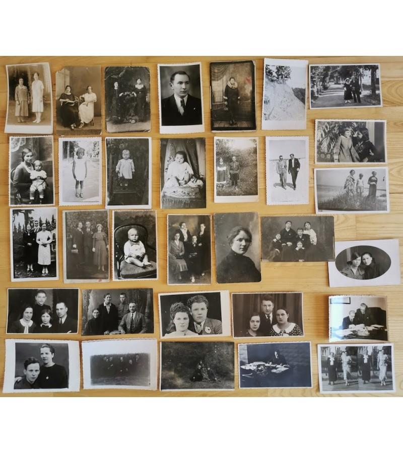 Nuotraukos tarpukario Lietuvos įvairios. Kaina po 1