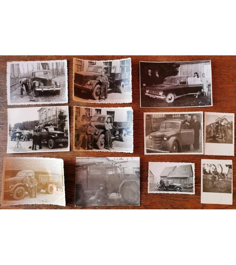 Nuotraukos lietuviškos-automobiliai. Kaina po 3