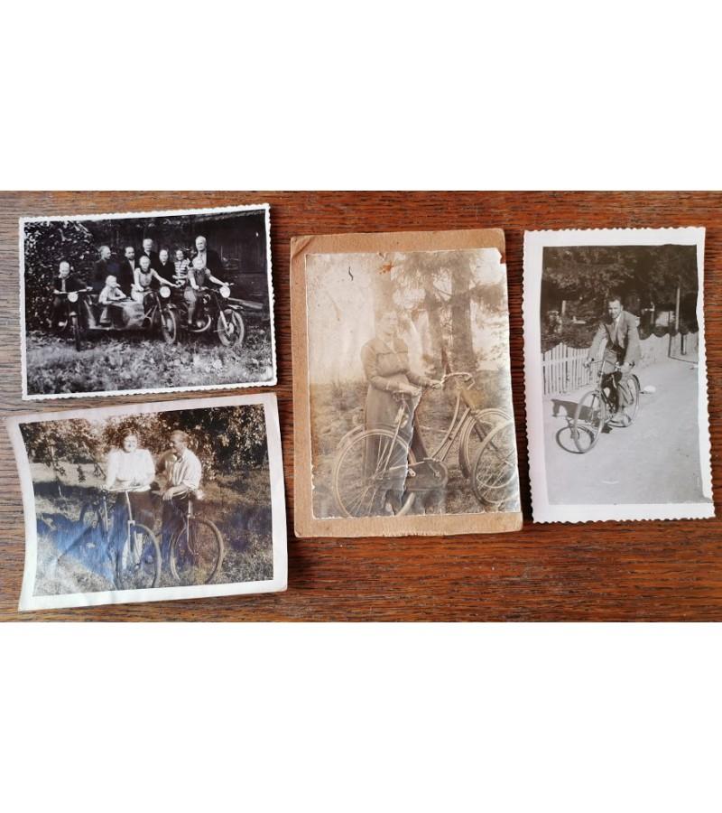 Nuotraukos lietuviškos-dviračiai. Kaina po 2