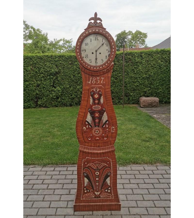 Laikrodis antikvarinis su svarmenimis, 1837 m. Kaina 255