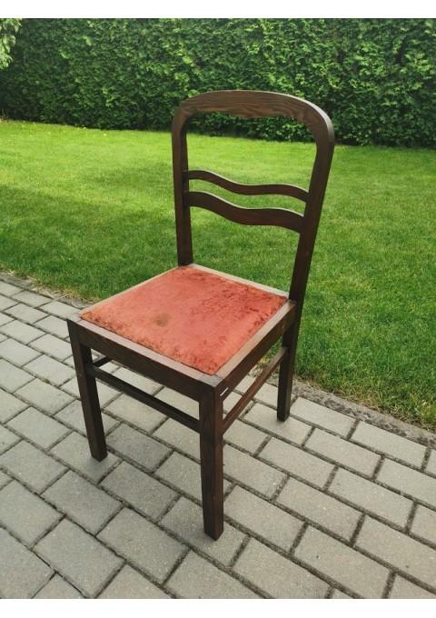 Kėdė smetoniška, tarpukario laikų, ąžuolinė. Kaina 17