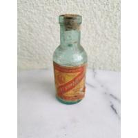 Buteliukas pokarinis vaistų su etikete - Kamparo spiritas. Kaina 8