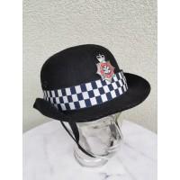 Kolekcinė Šiaurės Velso policijos uniforminė kepurė. Collectible South Wales Police Original hat. Australia. 1997. Kaina 87