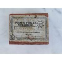 Vaistų dėžutė antikvarinė. Kaina 8
