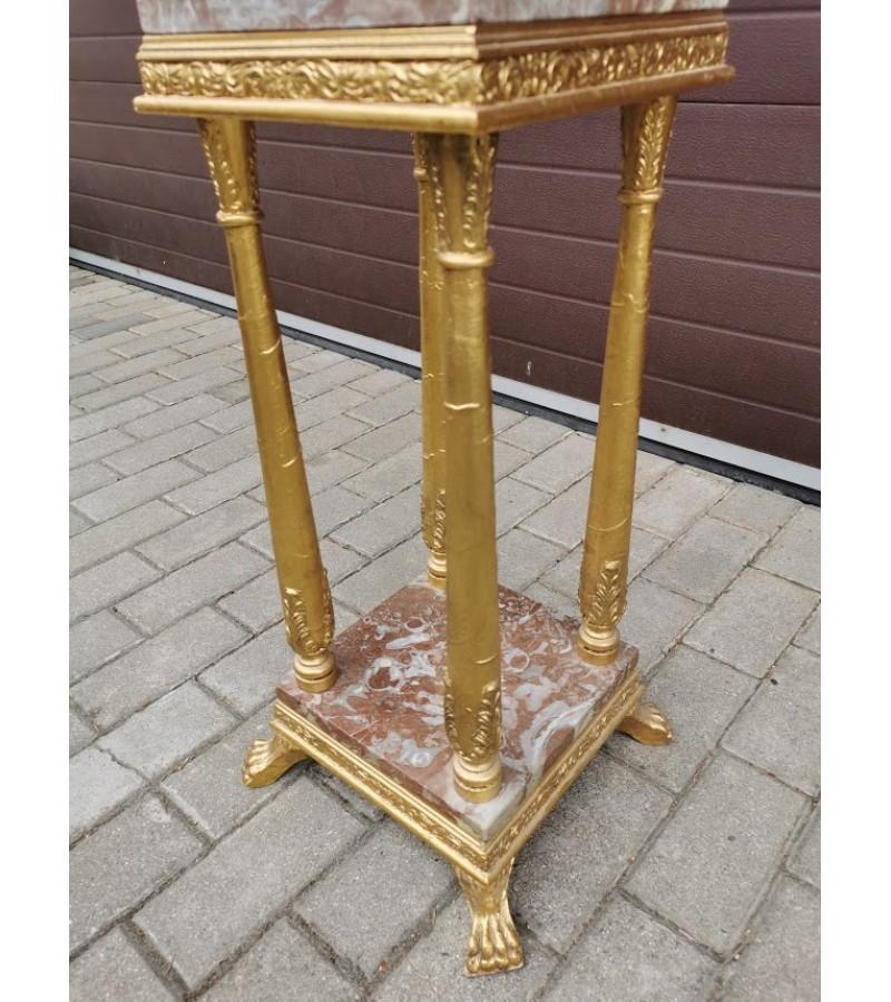 Stalelis, stovelis, kolona marmurinis. Danija. Kaina 137