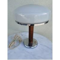 Lempa, šviestuvas stalinis, tarybinis. Sovietinio modernizmo stilius. Veikiantis. Kaina 82