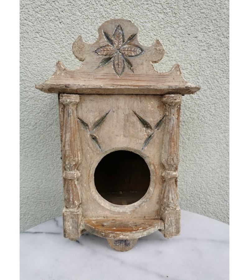 Spintelė budniko (žadintuvo) antikvarinė iš Suvalkijos. Kaina 48