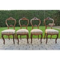 Kėdės antikvarinės, tvirtos. 4 vnt. Kaina po 38