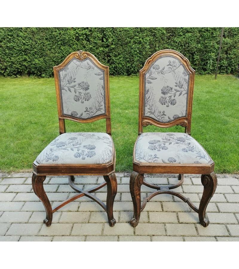 Kėdė antikvarinė aukšta atkalte. LIKO TIK ANTRA. Kaina 63