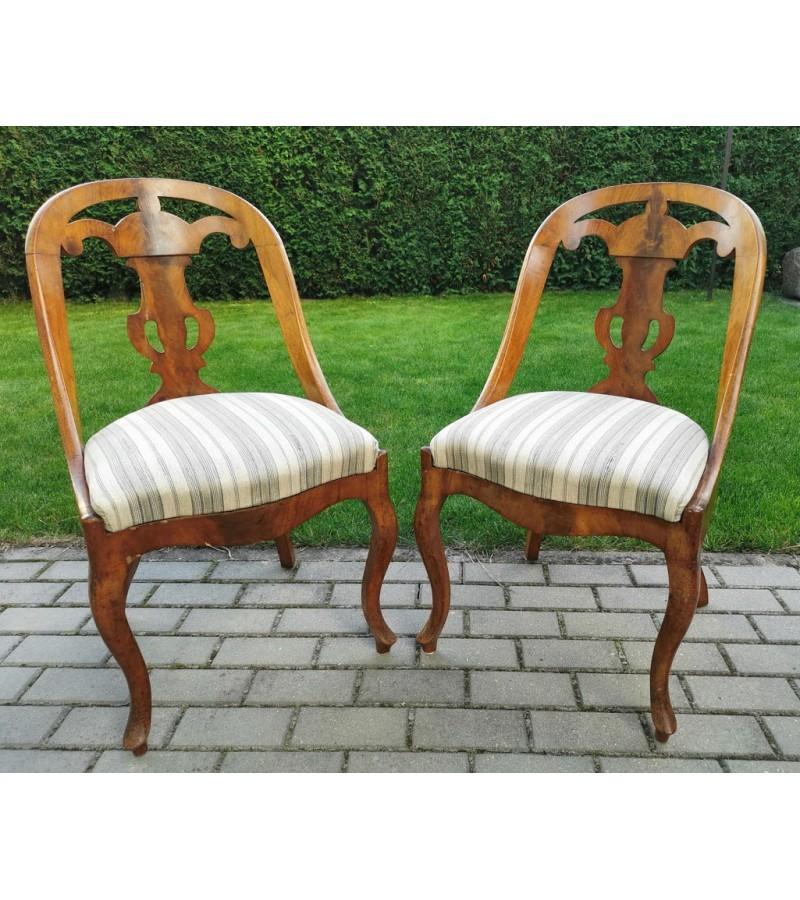 Kėdės, krėslai antikvariniai Gothenburg armchairs. XIX a. 2 vnt. Kaina po 82