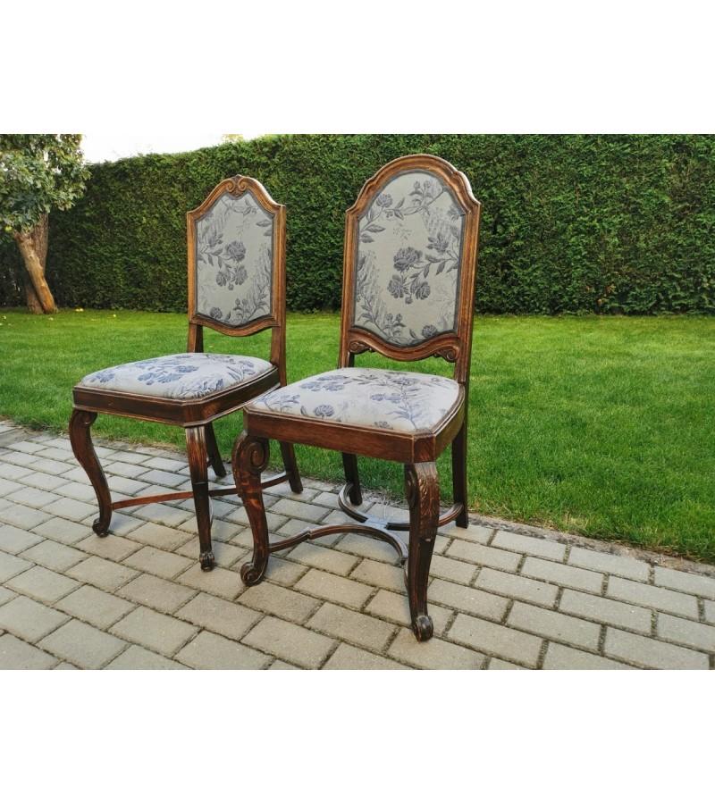 Kėdės antikvarinės aukšta atkalte. 2 vnt. Kaina po 62