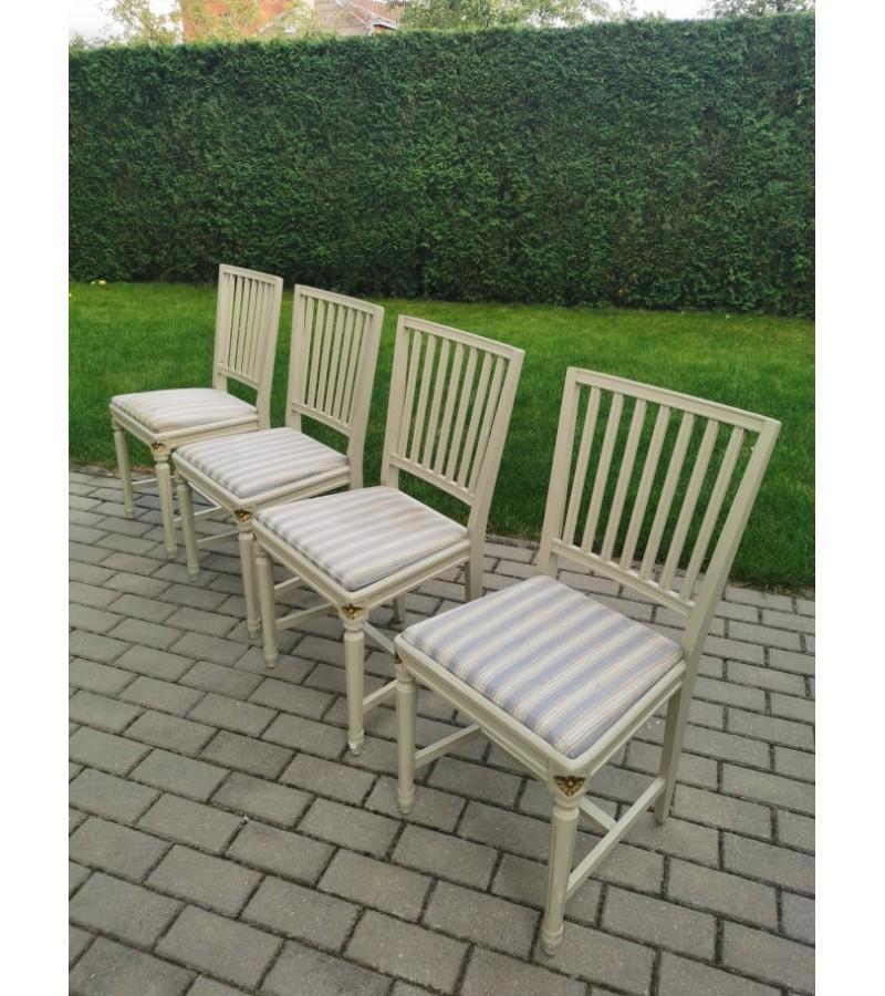 Kėdės tvirtos, Provanso stiliaus. 4 vnt. Kaina po 26