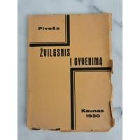Knyga Žvilgsnis į gyvenimą. 1930 m. Kaina 12