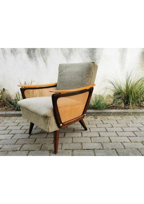 Fotelis, krėslas mid-century modern, vintažinis, stilingas. Kaina 167