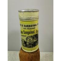 Vaistų dėžutė antikvarinė, skardinė, tarpukario, vokiška. Kaina 10