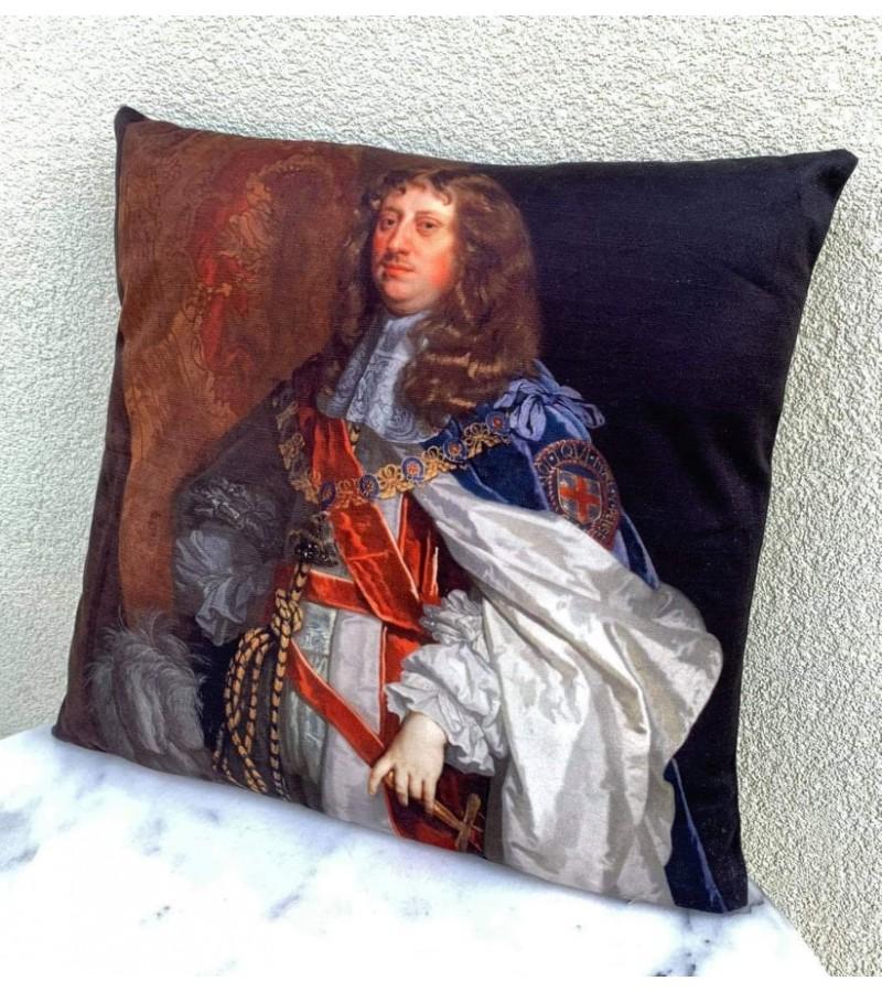 Pagalvėlė, interjero detalė - Liudvikas XIV, Karalius Saulė. Kaina 18