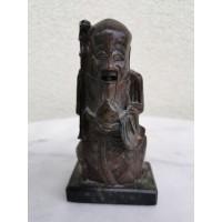 Statulėlė muilo akmens, antikvarinė, tarpukario. Kaina 32