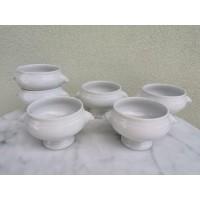 Dubenėliai porcelianiniai Bavaria. 10 vnt. Kaina po 12