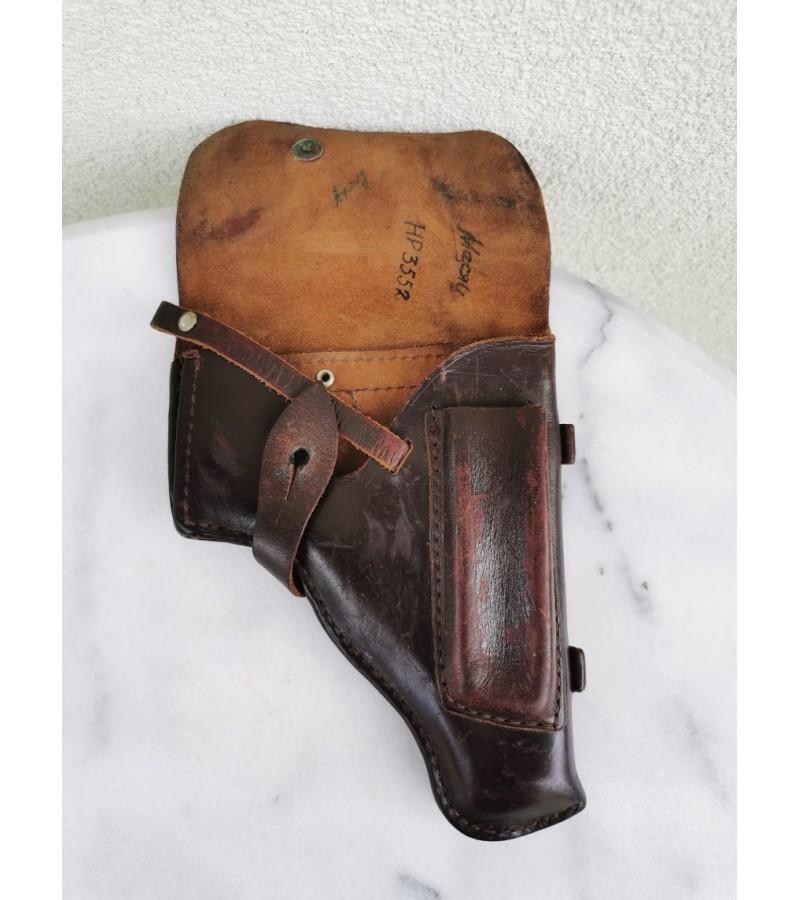 Dėklas, kabura pistoleto Makarov odinis. Originalas. Kaina 27