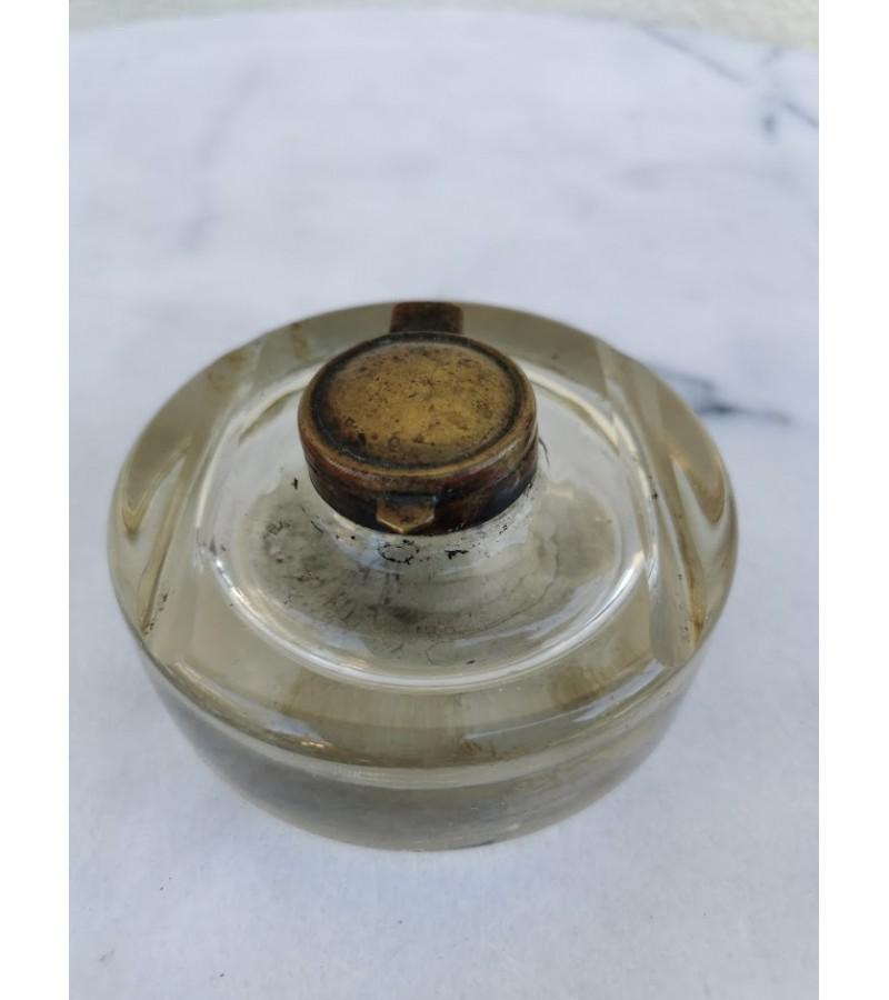 Rašalinė antikvarinė storo stiklo. Kaina 32