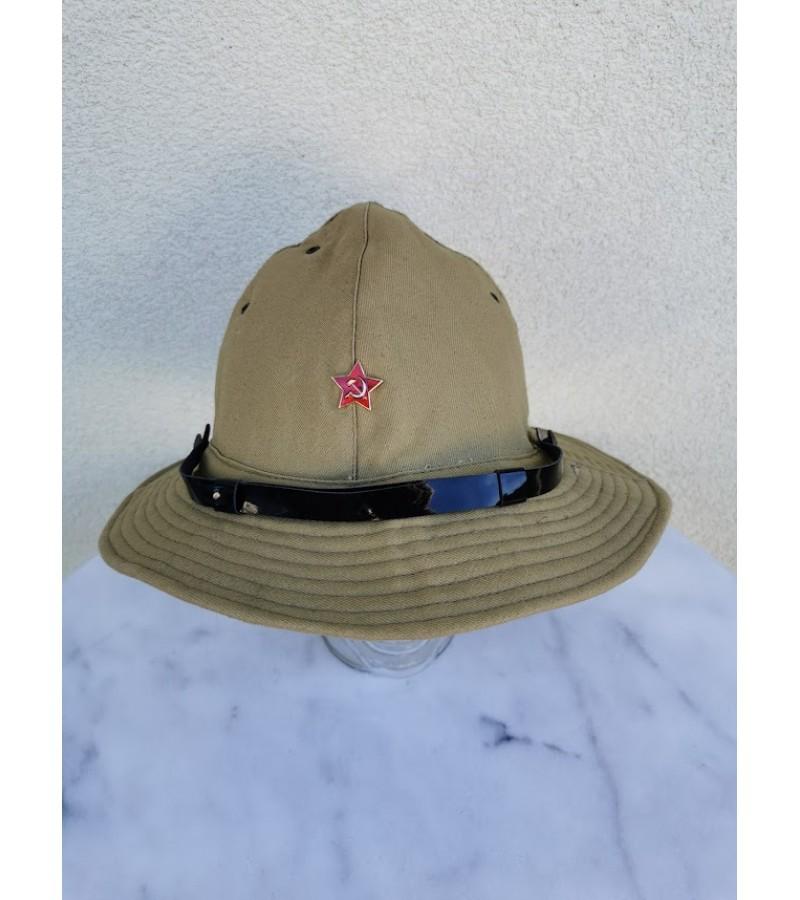 Kareiviška kepurė, panama - afganka. Russian Boonie Hat Soviet Red Army SOLDIER Uniform Afganka cap Panama size 58. Kaina 62