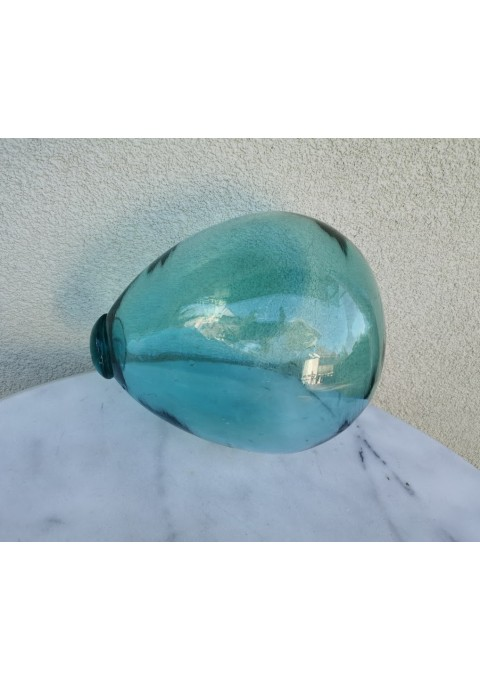 Stiklinis plūduras antikvarinis. Kaina 36