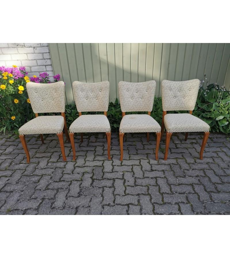 Kėdės Mid-century modern stiliaus. 4 vnt. Kaina 28