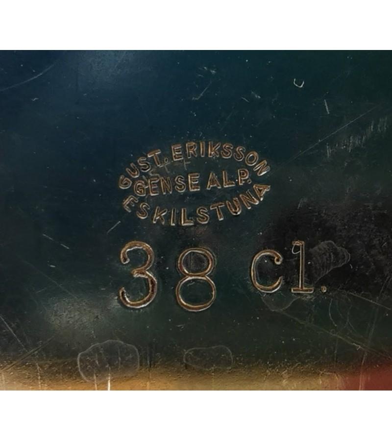 Komplektas antikvarinis, sidabruotas GUST. ERIKSSON GENSE ALP ESKILSTUNA EXTRA 35 cl. Kaina 78