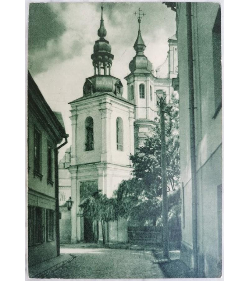 Atvirukas Jan Bulhak Art. Fot. Nr. 14 Wilno -Kosciol Sw. Michala. Kaina 28