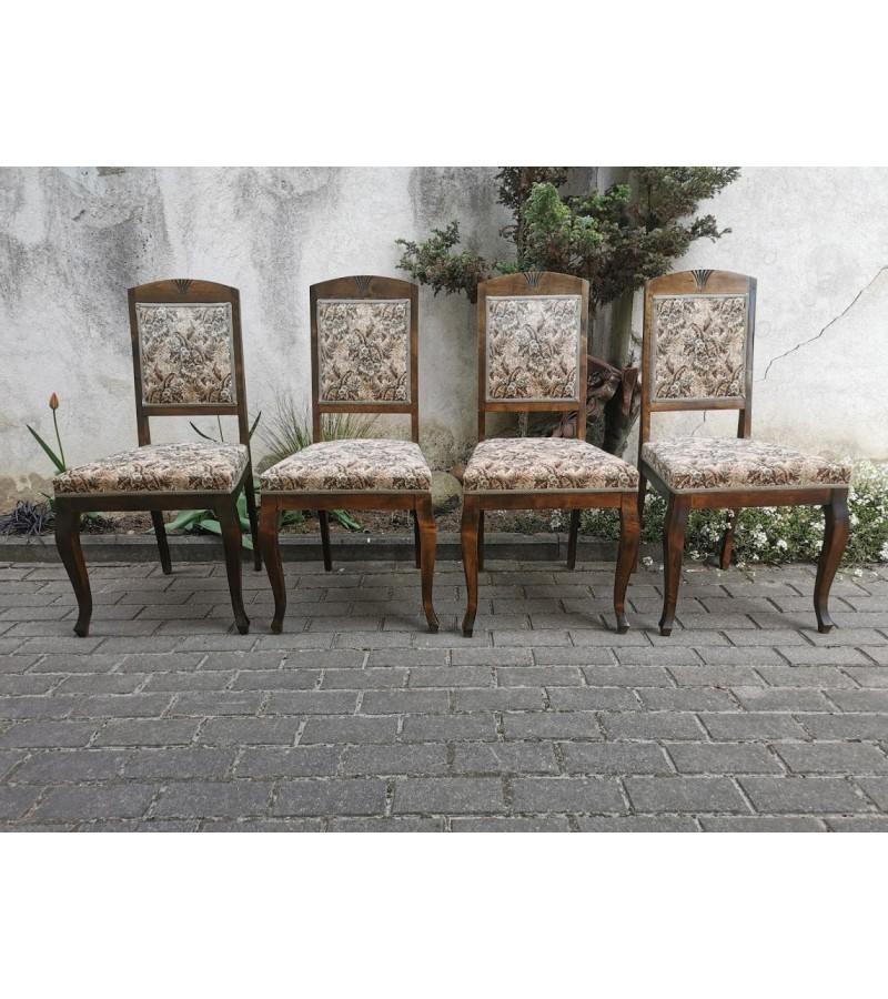 Kėdės antikvarinės. 4 vnt. Kaina po 28