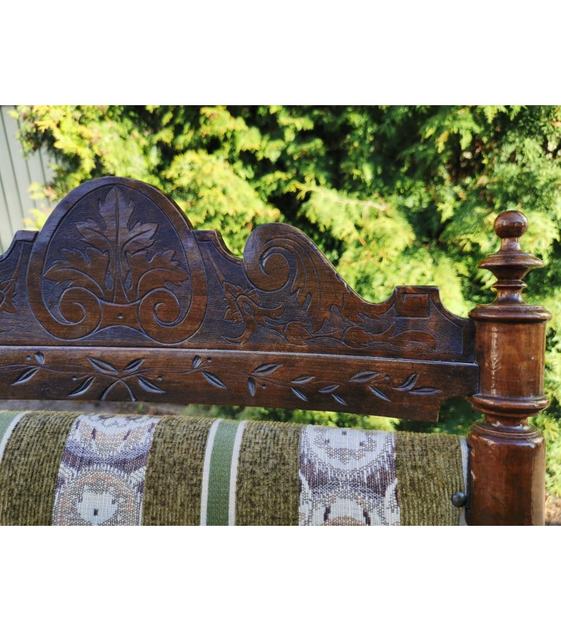 Supamas krėslas antikvarinis, patogus ir tvirtas. Kaina 92