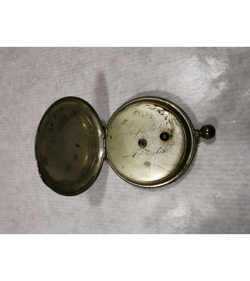 Laikrodis antikvarinis, kišeninis. Kaina 21