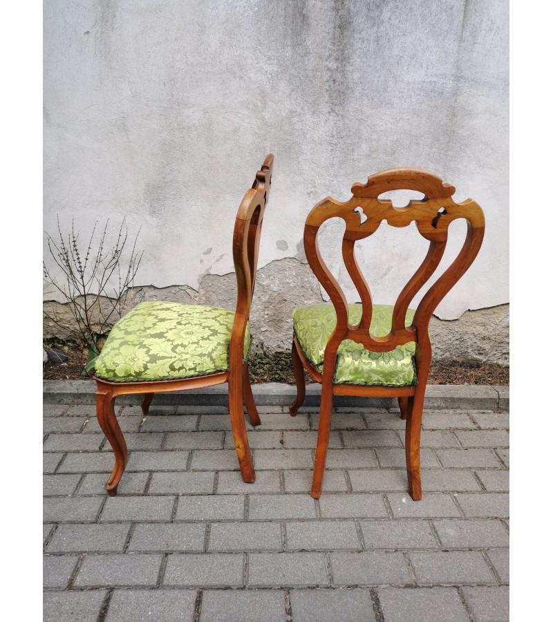 Kėdės antikvarinės, tvirtos. 2 vnt. Kaina po 48