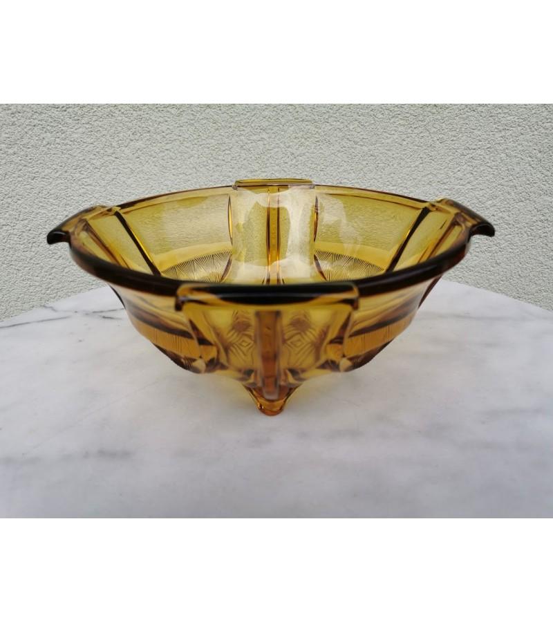 Vaza, vaisinė, saldaininė antikvarinė, Art Deco stiliaus, tarpukaris. Kaina 72