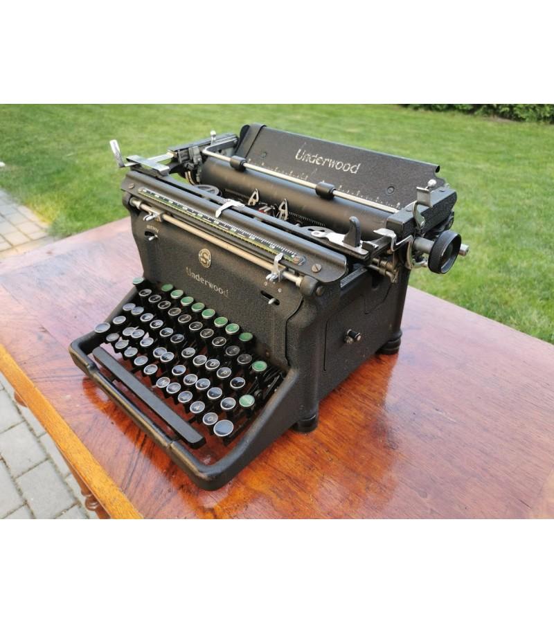 Spausdinimo mašinėlė antikvarinė UNDERWOOD. Kaina 107.