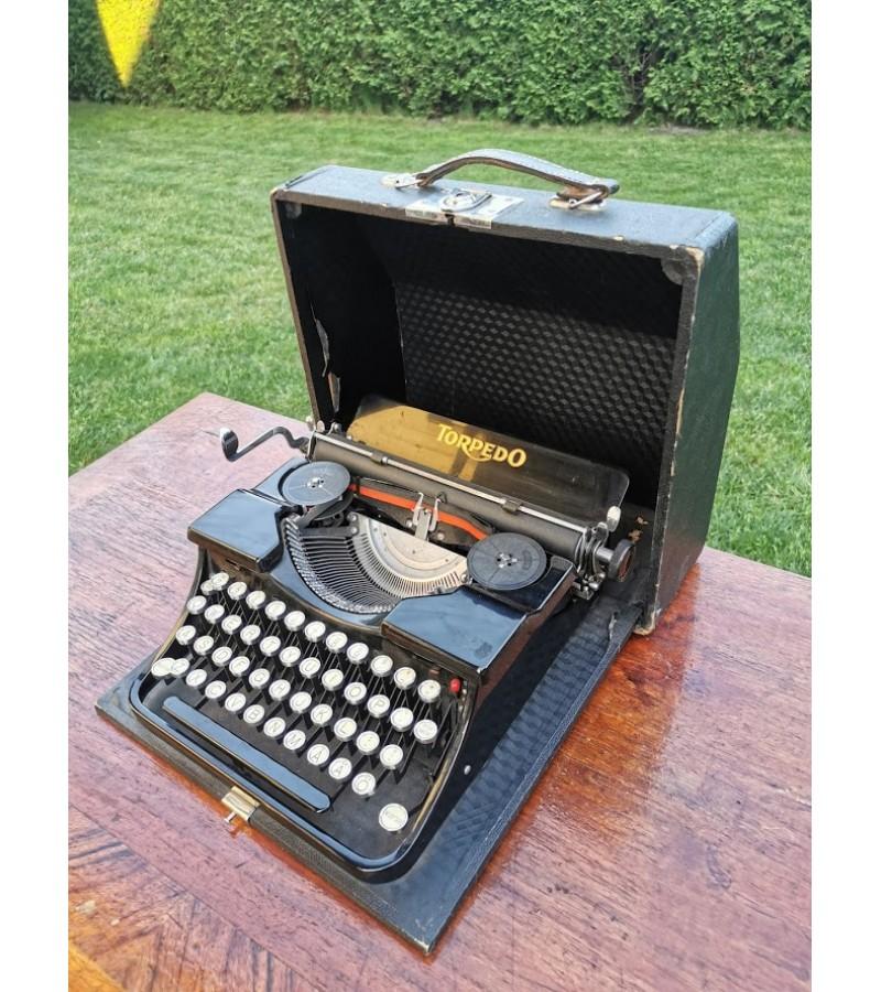 Spausdinimo mašinėlė antikvarinė TORPEDO. Kaina 92