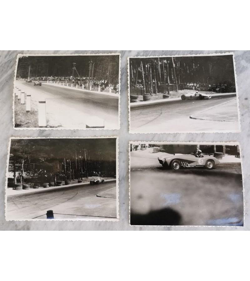 Nuotraukos: automobilių lenktynės, galimai Kačerginės žiede. 4 vnt. Kaina 18 už visas