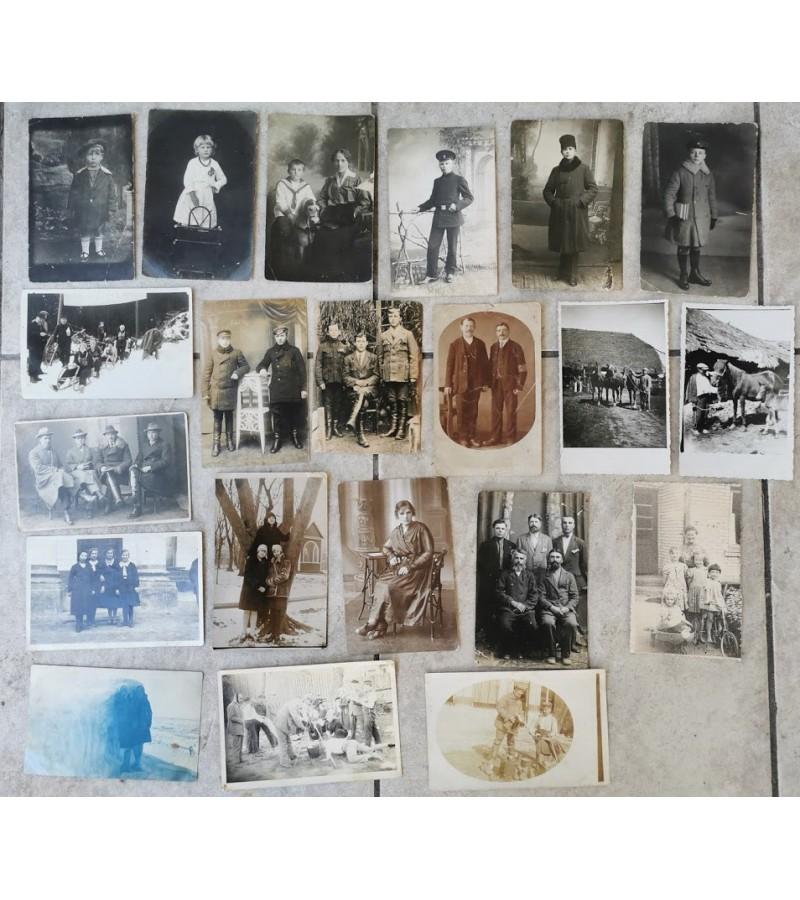 Nuotraukos antikvarinės, įvairios. 21 vnt. Kaina po 3 - 4.
